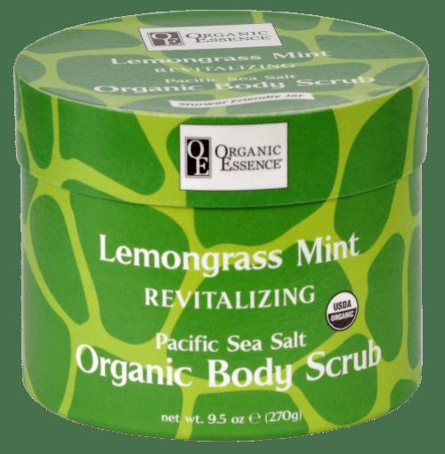 organic body scrub Lemongrass Mint