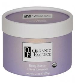 Organic Body Butter Citrus Lavender