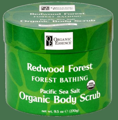 Organic Body Scrub Redwood Forest